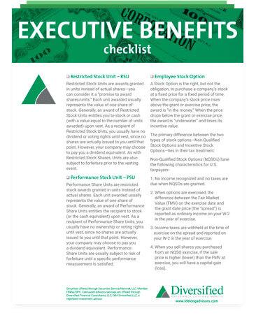 Executive Benefits image