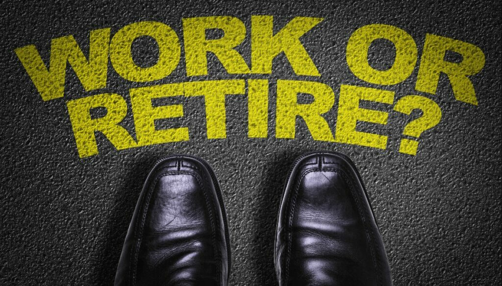work when you're able to retire