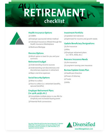 Financial Planning Resources | Wealth Management | Diversified Lifelong Advisors